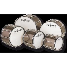 "Majestic XTD Marching Bass Drum 24"" x 14"""