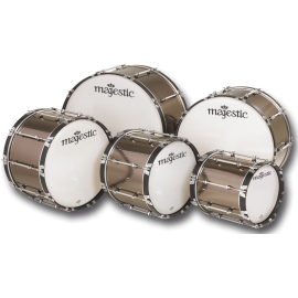 "Majestic XTD Marching Bass Drum 26"" x 14"""