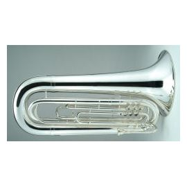 Contrabass Bugle, no case, 3 Valve, 4/4 size, Key of G, silver