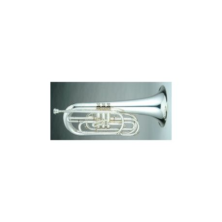 Euphonium Bugle Outfit, 3 Valve, Key of G, silver
