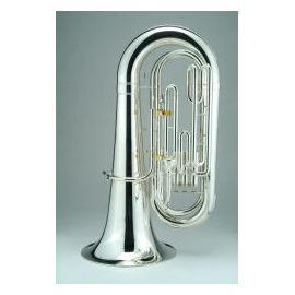 Marching BBb Convertible Tuba in silver or lacquer finish