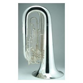 Marching BBb Tuba with 4 Valves, 5/4 version in silver or lacque