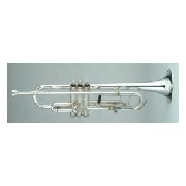 Soprano Bugle Outfit, 3 Valve, All note tuning, Key of G, silver
