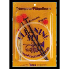 Reka Trompete/Flügelhorn Reinigungs-Set