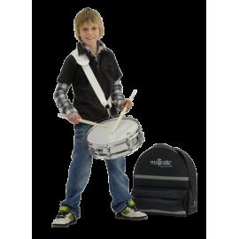 """MAJESTIC Junior-Snare-Drum 13"""" x 3,5"""" ESS1335S mit Stahlkessel"""