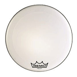 "Remo Power Max Bass Drum 20"" weiß"