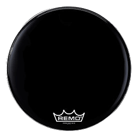 "Remo Power Max Bass Drum 24"" schwarz"