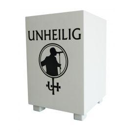 """UNHEILIG """"baff"""" Box - weiß"""
