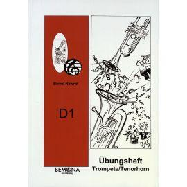 D1 Übungsheft für Querflöte, Posaune, Saxophon, Klarinette, Trompete & Tenorhorn, B-Tuba und Waldhorn