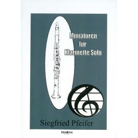 Miniaturen für Klarinette - Solo