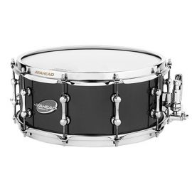 "Ahead AS613 Snaredrum 13""x 6"" Black on Brass"