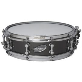 "Ahead AS414T Snaredrum 14"" x 4"" Black on Brass"
