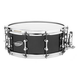 "Ahead AS614 Snaredrum 14""x 6"" Black on Brass"