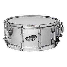 "Ahead ASC613 Snaredrum 13"" x 6"" Chrome on Brass"
