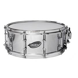 "Ahead ASC614 Snaredrum 14"" x 6"" Chrome on Brass"