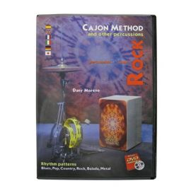 Duende DVD Cajon Method - Rock