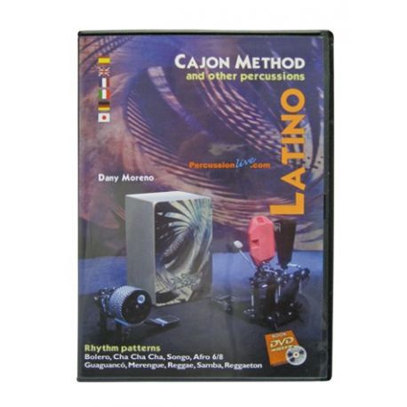 Duende DVD Cajon Method - Latino
