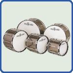 Bass Drums, Große Trommel, Pauke auf Marchingshop.de